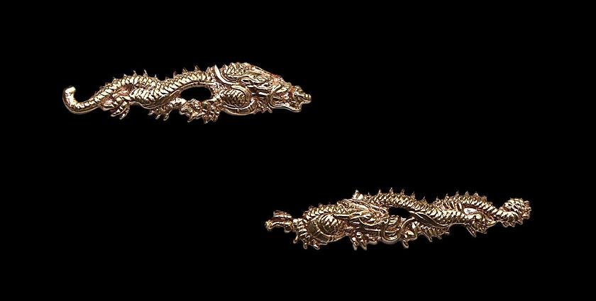 Мэнуки Дракон для рукояти меча