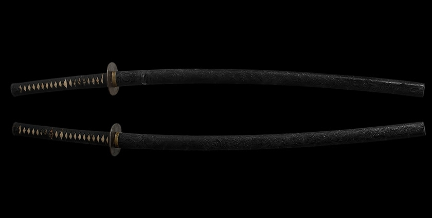 Антикварная катана 18-й век