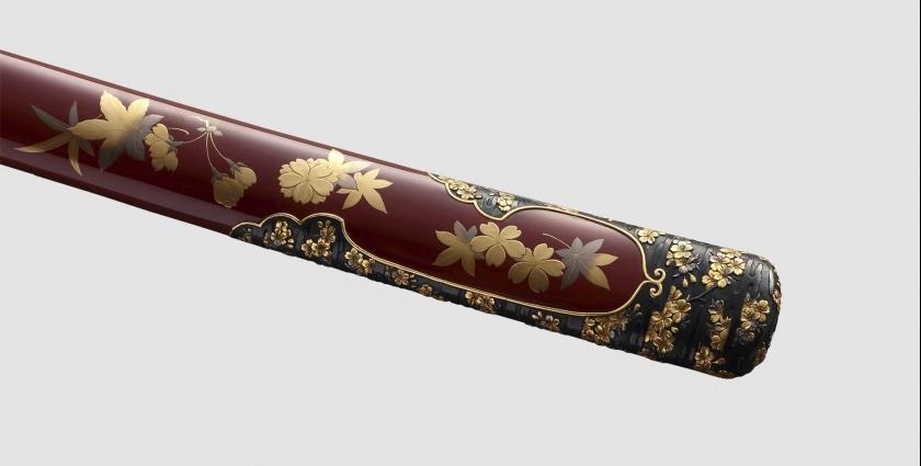 Декоративная роспись или аэрография ножен