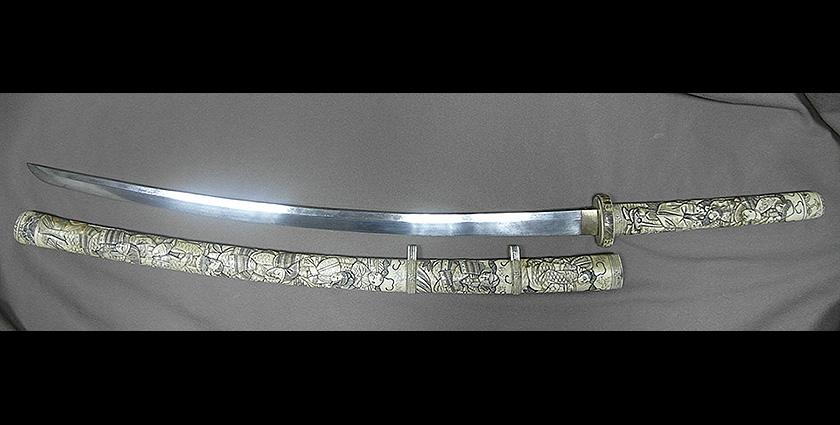 Антикварный меч тати