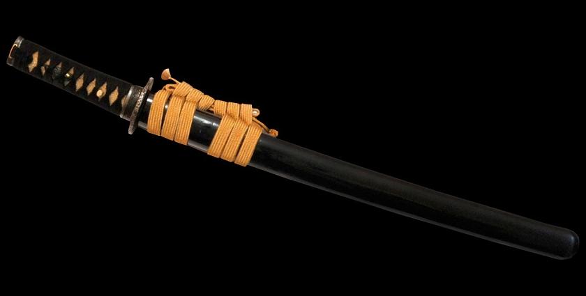 Антикварный меч вакидзаси
